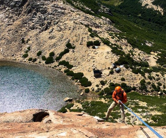 Rock Climbing in Frey