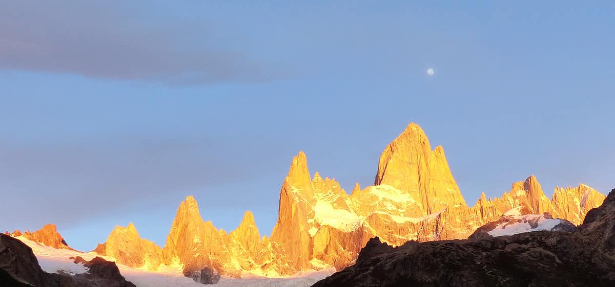 Fitz Roy at sunrise, by Chloe from Swoop