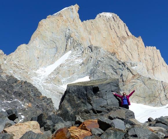 Piedra Negra, Los Glaciares