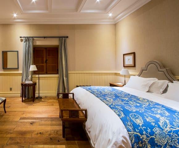 Bedroom at Matetic's La Casona Hotel, Chile