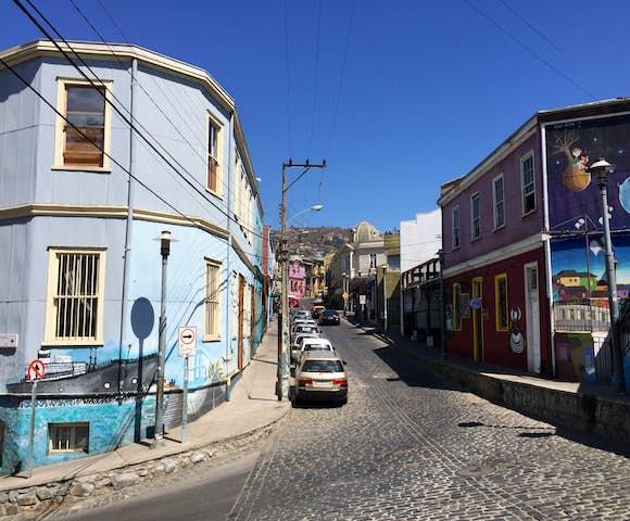 Valparaiso road