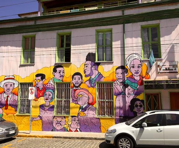 Valparaiso street art