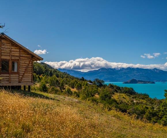 Mallin Colorado Lodge, Patagonia, Chile