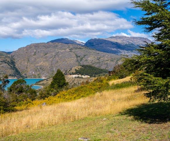 Hiking the trails around Mallin Colorado Lodge, Patagonia, Chile