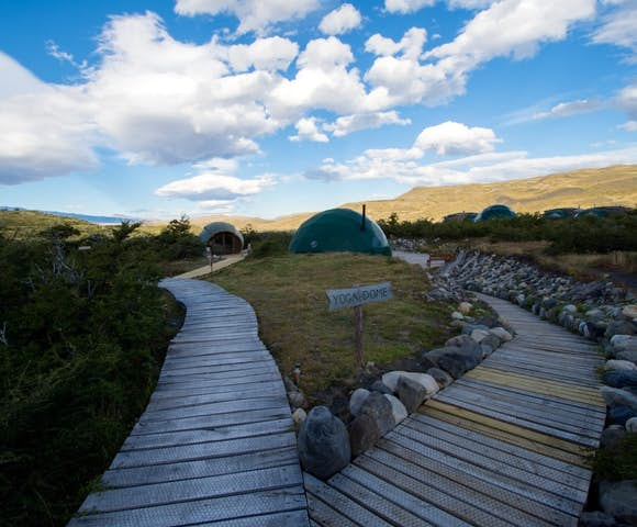 Eco Camp Yoga Dome, Patagonia