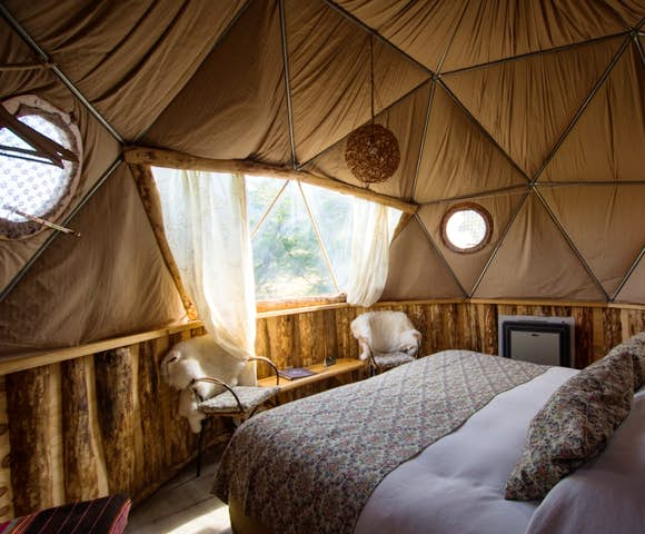 Superior Dome at Eco Camp Patagonia