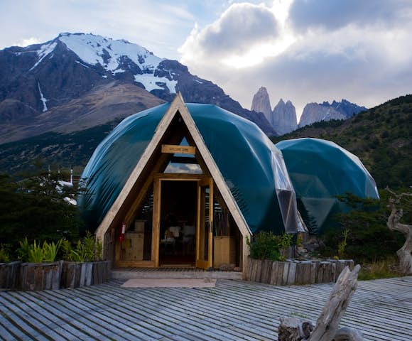 Welcome Dome, Eco Camp, Patagonia