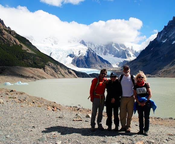 El Chalten hiking group