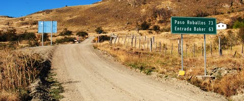 Carretera Austral Road, Patagonia, Chile