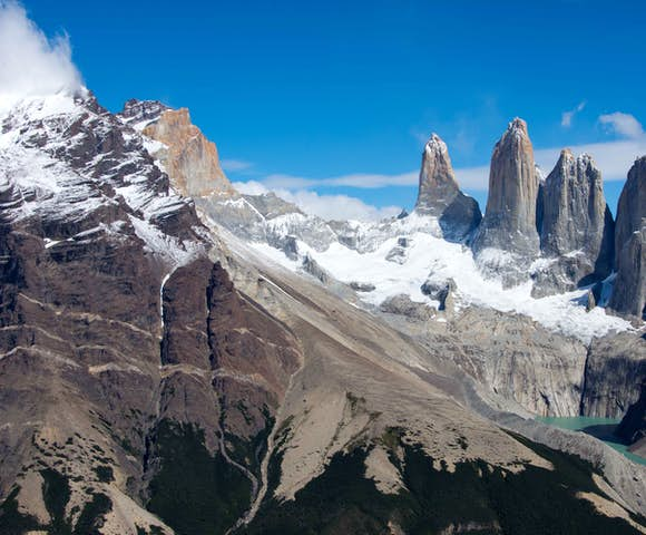 Cerro Paine towers