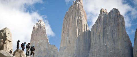 Torres del Paine look-out (via Valle Ascensio)