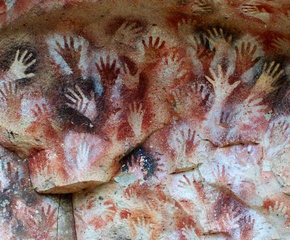 The Cueva de las Manos (Cave of Hands), Argentina