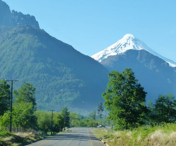 Villarrica Volcano, near Pucón, Chile