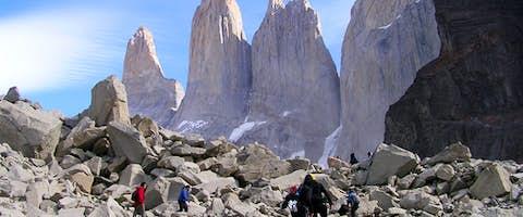 The W Trek in Torres Del Paine