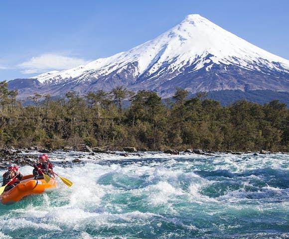 Rafting on Rio Petrohue