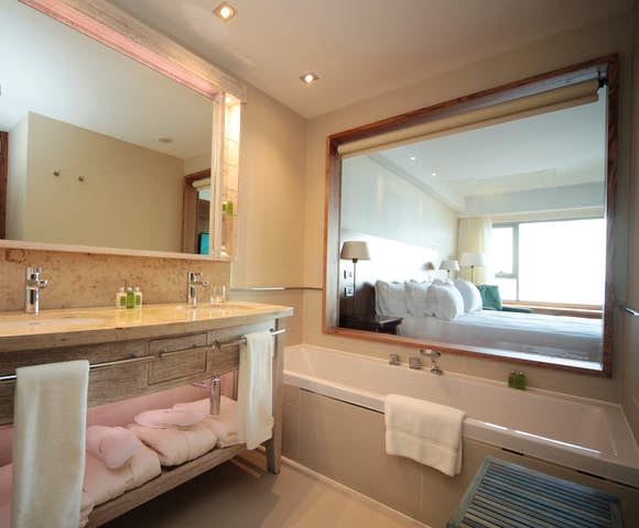 Bathroom in Arakur hotel Ushuaia