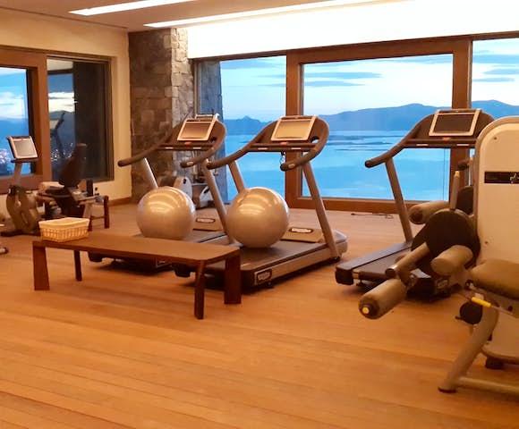 Gym at Arakur Hotel Ushuaia