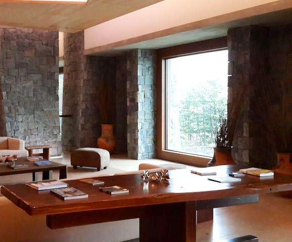Hotel Arakur lobby Ushuaia