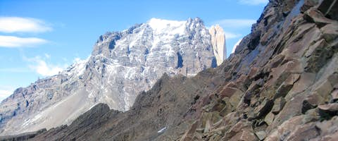 Tackling the trails of the Oggioni Pass, Torres del Paine National Park, Patagonia