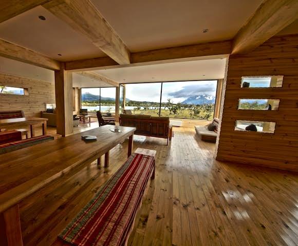 Dining Room at Pampa Lodge