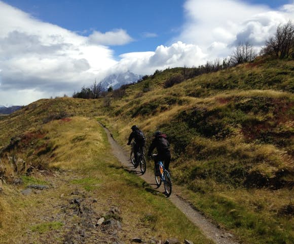 Torres del Paine mountain bike Fortaleza