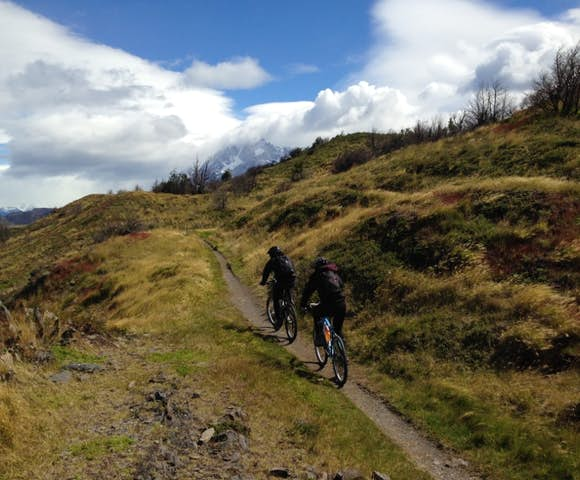 Torres del Paine mountain bike Fortaleza