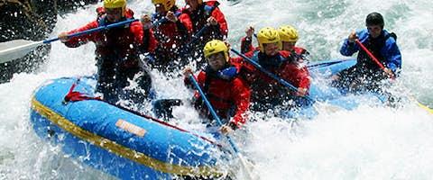 White Water Rafting in Patagonia