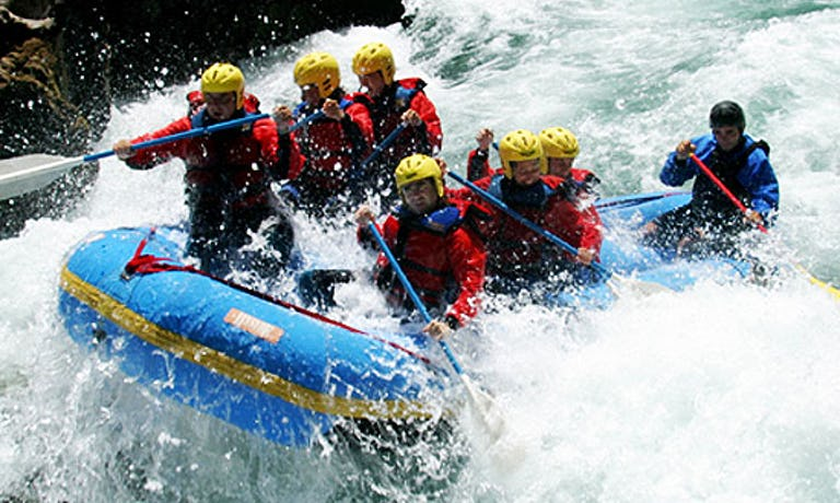 Manso River Rafting Expedition